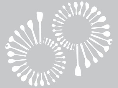 spoons & flowers